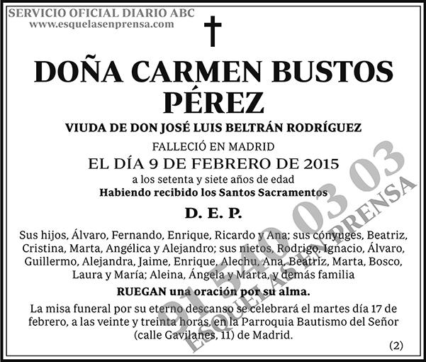 Carmen Bustos Pérez